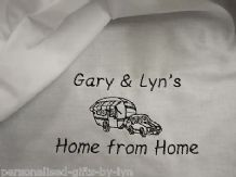 Personalised CaravanTeatowel